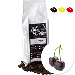 Black Cherry Flavoured Coffee | Flavoured Coffee | Free Standard Delivery On Orders Over £25