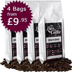 Blended Coffees Selection Pack | Next Day Delivery