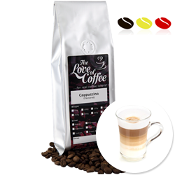 Cappuccino Flavoured Coffee | Flavoured Coffee | FREE Standard Delivery On Orders Over £25