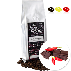 Chilli Chocolate Flavoured Coffee | Flavoured Coffee | FREE Standard Delivery On Orders Over £25