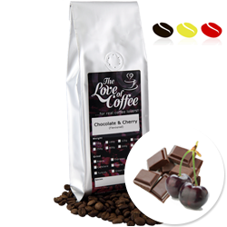 Chocolate & Black Cherry (Flavoured Coffee) | Flavoured Coffee