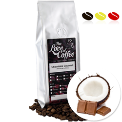 Chocolate and Coconut Flavoured Coffee | Flavoured Coffee | FREE Standard Delivery On Orders Over £25