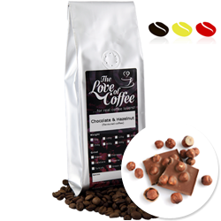 Chocolate & Hazelnut | Flavoured Coffee | FREE Standard Delivery On Orders Over £25