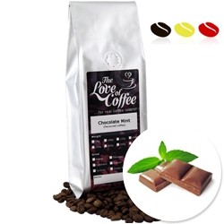 Chocolate Mint  Flavoured Coffee | Flavoured Coffee | FREE Standard Delivery On Orders Over £25