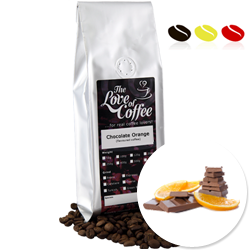 Chocolate Orange Flavoured Coffee | Flavoured Coffee | FREE Standard Delivery On Orders Over £25