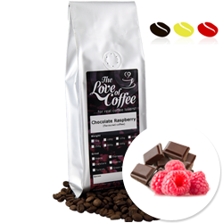 Chocolate Raspberry Flavoured Coffee | Flavoured Coffee | FREE Standard Delivery On Orders Over £25