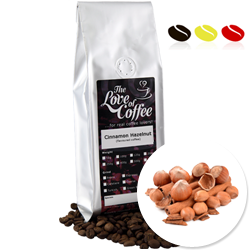 Cinnamon Hazelnut Flavoured Coffee | Flavoured Coffee | FREE Standard Delivery On Orders Over £25