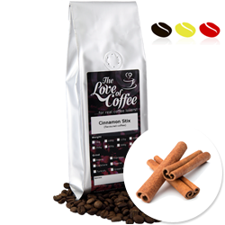 Cinnamon Stix Flavoured Coffee | Flavoured Coffee | FREE Standard Delivery On Orders Over £25