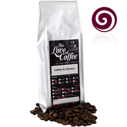 Coffee and Chicory Blend Coffee | Blended Coffees | Buy online for next day delivery.