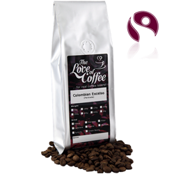 Colombian Excelso Coffee | Colombian Excelso | Fairtrade | Buy line for next day delivery.