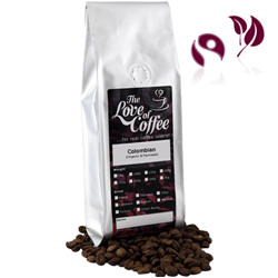 Colombian Coffee Beans | Organic and Fairtrade | Next Day Delivery