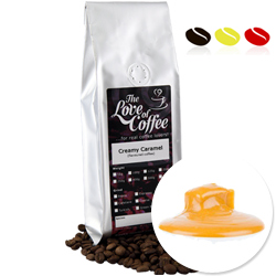 Creamy Caramel Flavoured Coffee | Flavoured Coffee | FREE Standard Delivery On Orders Over £25
