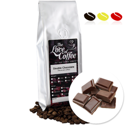 Double Chocolate Flavoured Coffee | Flavoured Coffee | FREE Standard Delivery On Orders Over £25