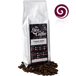 Freedom Blend Coffee | Blended Coffees | Organic & Fairtrade | Buy Online For Next Day Delivery