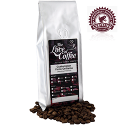 Guatemalan Finca Oriflama Coffee | Rainforest Alliance | Origin | Buy Online For Next Day Delivery