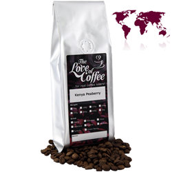 Kenya Peaberry | Peaberry African Coffee | The Love Of Coffee