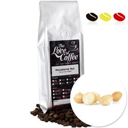Macadamia Nut Flavoured Coffee | Flavoured Coffee | FREE Standard Delivery On Orders Over £25