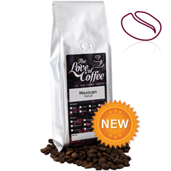 Mexican Decaf Coffee | Organic and Fairtrade | FREE Standard Delivery On Orders Over £25