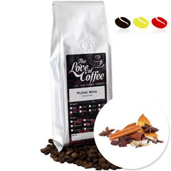 Mulled Wine Flavoured Coffee | Flavoured Coffee | FREE Standard Delivery On Orders Over £25