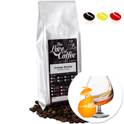 Orange Brandy Flavoured Coffee | Flavoured Coffee | FREE Standard Delivery On Orders Over £25