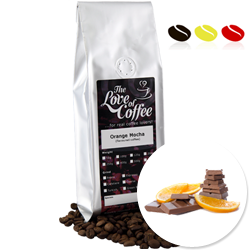 Orange Mocha Flavoured Coffee | Flavoured Coffee | FREE Standard Delivery On Orders Over £25