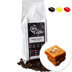 Salted Caramel  Flavoured Coffee | Flavoured Coffee | FREE Standard Delivery On Orders Over £25