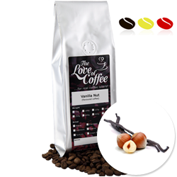 Vanilla Nut Flavoured Coffee | Flavoured Coffee | Buy Online For Next Day Delivery